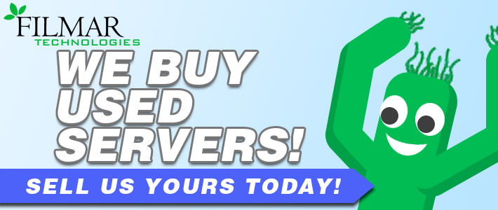 We Buy Servers Banner
