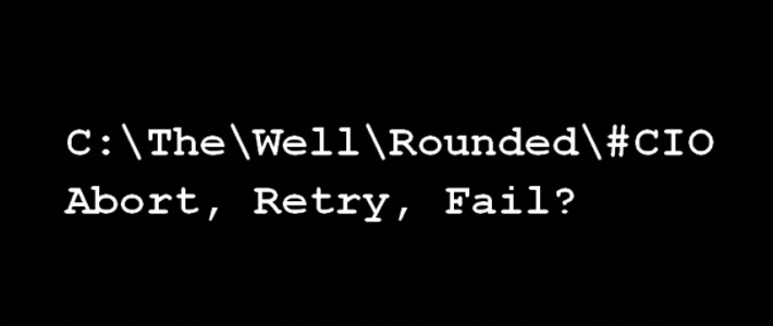 Well Rounded CIO