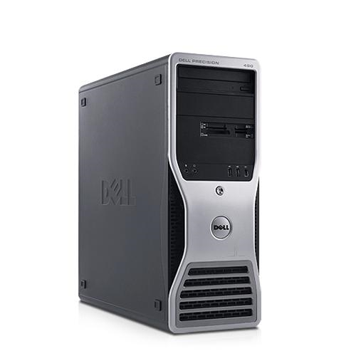 DELL PRECISION 490 - 3.00GHz, 500GB HDD, 1.5GB RAM, COMBO, XX - GRADE B