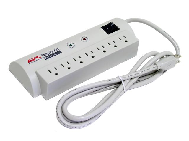 APC PERSONAL SURGEARREST 7-OUTLET SURGE PROTECTOR - NEW
