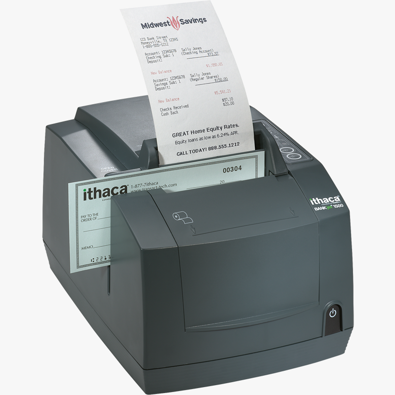 HP Ithaca BankJet 1500 Receipt Printer