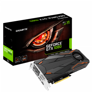 GIGABYTE GEFORCE GTX 1080 TURBO OC 8GB VIDEO CARD - NEW