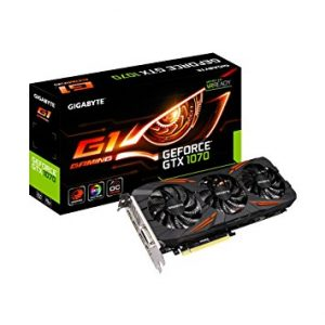 GIGABYTE GEFORCE GTX 1070 G1 GAMING OC 8GB GDDR5 VIDEO CARD - NEW