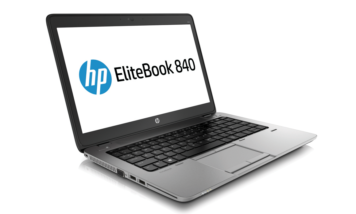 HP ELITEBOOK 840 G1 - 1.90GHz, 128GB SSD HDD, 4GB RAM, NO OPTICAL, W7 - REFURBISHED