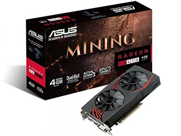 ASUS RADEON RX 470 GDDR5 4GB COIN MINING - NEW