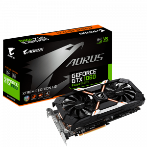 AORUS GEFORCE GTX 1060 EXTREME EDITION 6GB GDDR5 VIDEO CARD - NEW