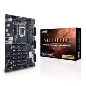 ASUS B250 MINING EXPERT 19 SLOT MOTHERBOARD - NEW