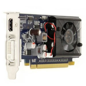 NVIDIA LOW PROFILE VIDEO CARD - REFURBISHED