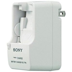 SONY TRAVEL CHARGER FOR N, G, D, T AND R SERIES DIGITAL CAMERA BATTERIES - NEW