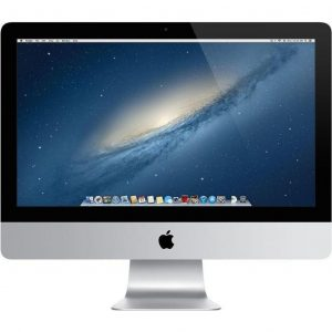 APPLE IMAC 21.5in - 3.30GHz, 512GB SSD HDD, 16GB RAM, NO OPTICAL, NO COA - GRADE A - OPEN BOX