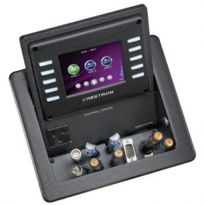 CRESTON 3.6in FLIPTOP TOUCHPANEL CONTROL CENTER - BLACK - GRADE A - OPEN BOX