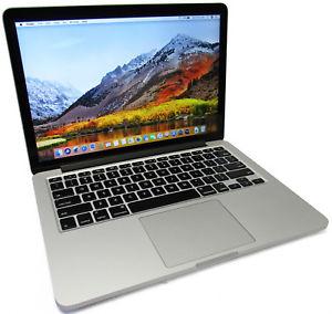 APPLE MACBOOKPRO12,1 MACBOOK PRO - 2.90GHz, 256GB SSD HDD, 16GB RAM, NO OPTICAL, NO COA - GRADE A