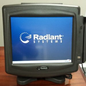 RADIANT SYSTEMS P1220-1003-AA P1220 TOUCHSCREEN POS SYSTEM