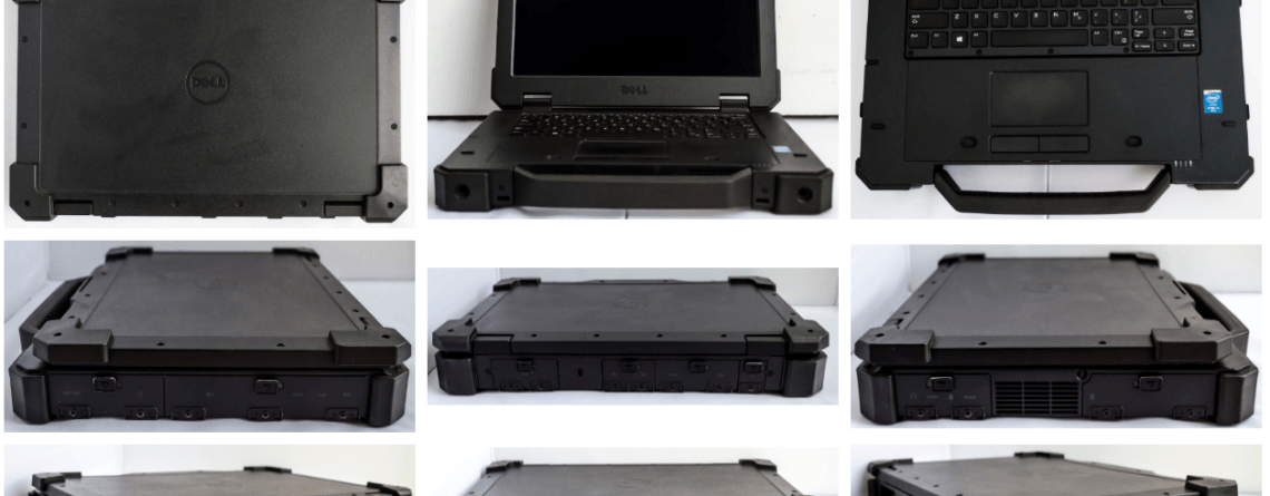 Dell Latitude 7404 Rugged Extreme Product Review - Filmar
